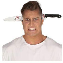 Nóż w głowie na Halloween - 35 cm - 1 szt. (8434077261521)