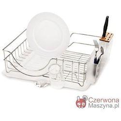 Ociekacz do naczyń Simplehuman Wire Frame, biały - produkt dostępny w Czerwona Maszyna