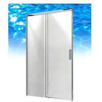 Omnires  soho - drzwi prysznicowe 120 x 200 cm - clp12x