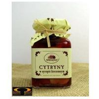 Cytryny w syropie korzennym - Spiżarnia