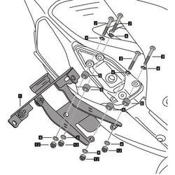 Fender eliminator PUIG do Ducati 899 / 1199 Panigale 12-15 z kategorii Pozostałe akcesoria motocyklowe