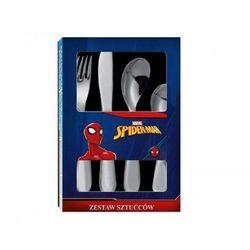 Komplet 4 sztućców dla dzieci Spiderman Spidey 35653