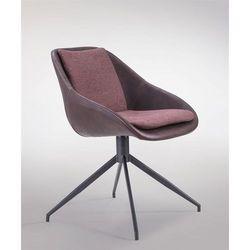 Krzesło Poter Soft obrotowe, kolor brązowy