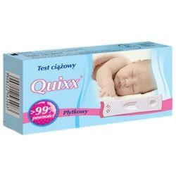 Quixx, test ciążowy płytkowy, 1 szt (test medyczny)