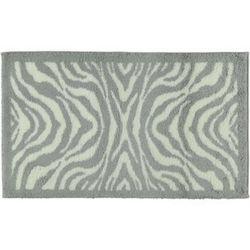 Cawö frottier  dywanik łazienkowy zebra biały