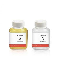 Klarstein growlt nutri kit 60 pożywka roztwór wodny wyposażenie akcesoria 2 x 60 ml (4060656152122)