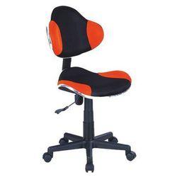 Fotel Q-G2 Pomarańczowy Czarny