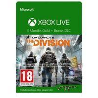 Karta MICROSOFT Xbox Live Gold The Division 3-miesiące (52K-00280) (0889842079593)