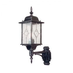 Zewnętrzna LAMPA wisząca WEXFORD WX9 Elstead klasyczna OPRAWA ogrodowa ZWIS latarenka IP43 outdoor srebrna