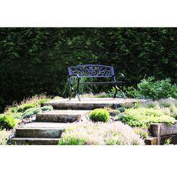 Ławka ogrodowa HOME&GARDEN Flowers Gold + DARMOWY TRANSPORT!