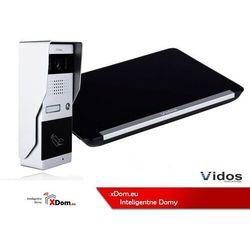 Zestaw wideodomofonu z czytnikiem RFID VIDOS S50A monitor 7'' M690 Czarny