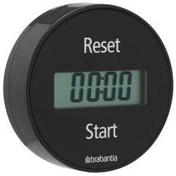 - elektroniczny timer kuchenny mocowany na magnes - szary - szary marki Brabantia