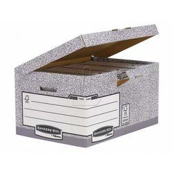 Fellowes Pudło archiwizacyjne bankers box system klapa uchylna/10 sztuk/ 11815