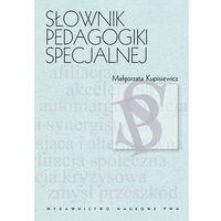 Słownik pedagogiki specjalnej (ISBN 9788301173043)