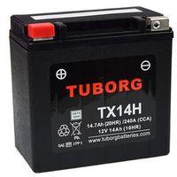 Akumulator wzmocniony Tuborg YTX14-BS TX14H 14Ah 240A/302A