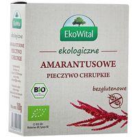 EKO WITAL 100g Amarantusowe pieczywo chrupkie bezglutenowe Bio | DARMOWA DOSTAWA OD 150 ZŁ!