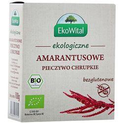 EKO WITAL 100g Amarantusowe pieczywo chrupkie bezglutenowe Bio | DARMOWA DOSTAWA OD 200 ZŁ - sprawdź w wybra