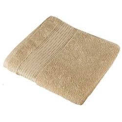 ręcznik kąpielowy kamilka pasek ciemnobeżowy, marki Bellatex