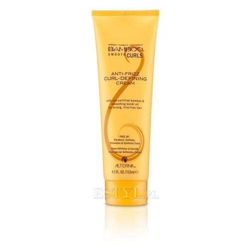 Alterna Bamboo Smooth Curls Defining Cream - wygładzający krem do loków 133ml - szczegóły w Estyl.pl