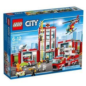 60110 REMIZA Fire Station KLOCKI LEGO CITY