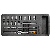 Neo  84-237 klucze nasadowe 1/4