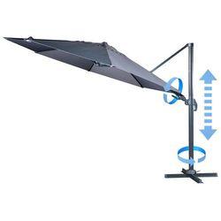 Makers zapasowe płótno do parasola ogrodowego verona 3,5 m, szare