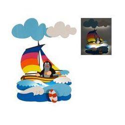Prezent Led lampa dziecięca 1xled/1w - krecik w łódce