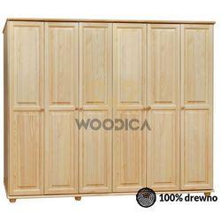 Woodica 16.szafa 6d 262x190x60