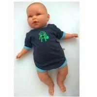 Pippi Body niemowlęce małpka winogronowy granat r 56