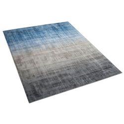 Beliani Dywan szaro-niebieski 160 x 230 cm krótkowłosy ercis
