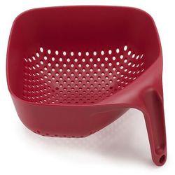 Joseph joseph Durszlak / cedzak plastikowy czerwony odbierz rabat 5% na pierwsze zakupy