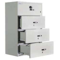 Chubb Ognioodporna szafa kartotekowa lateral fire file (4 szufladowa) ul 72 class 350 1h