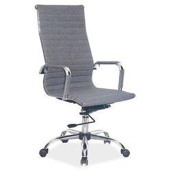 Fotel obrotowy q-040 szary tkanina marki Signal meble