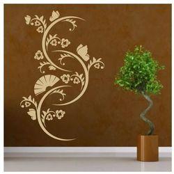 Deco-strefa – dekoracje w dobrym stylu Motyw roślinny 1238 szablon malarski