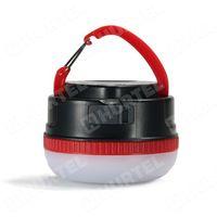 REMAX przenośna lampka LED zewnętrzny bank energii power bank 3000mAh czerwony - Czerwony, kup u jednego z p
