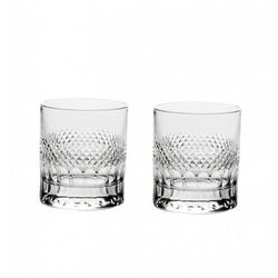 Royal Scot Crystal Diamonds Szklanki do Whisky 2szt., DIAM2LT