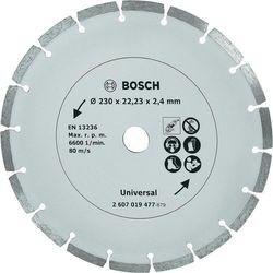 Tarcza diamentowa, segmentowa TS , 230 mm, marki Bosch do zakupu w Conrad.pl
