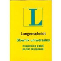 Słownik uniwersalny hiszp-pol pol-hiszp (ilość stron 372)