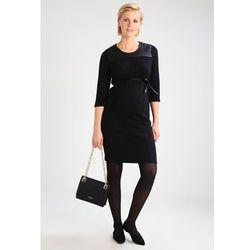 MAMALICIOUS MLRECO Sukienka z dżerseju black z kategorii sukienki ciążowe