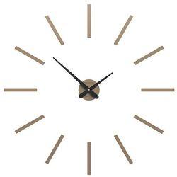 Zegar ścienny Pinturicchio CalleaDesign caffelatte, kolor brązowy
