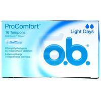 Ob O.b. pro comfort tampony light days 16 szt.