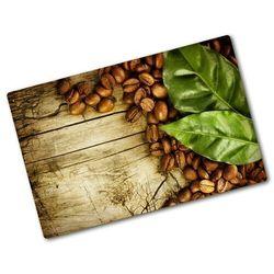 Deska do krojenia hartowana Kawa i liść laurowy
