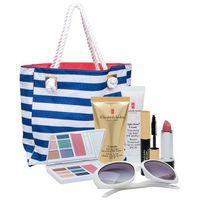 summer handbag kit w kosmetyki zestaw kosmetyków krem na dzień 30 ml + cienie do powiek 6,8 g + balsam do us