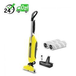 Fc 5 mop elektryczny + zestaw padów szarych negocjuj cenę! => 794037600, odbiór osobisty, dowóz! marki Karcher