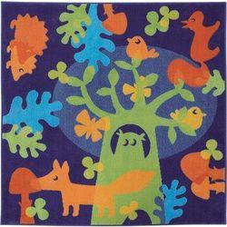 Dywan Leśni Przyjaciele 120x120 cm