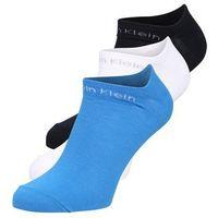 Calvin Klein Underwear 3 PACK COOLMAX Skarpety blue, kolor niebieski