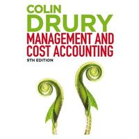 Management and Cost Accounting, w. CourseMate and eBook Access Drury, Colin