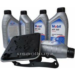 Filtr oraz olej skrzyni 4spd  atf320 dodge stratus -2006 wyprodukowany przez Mobil