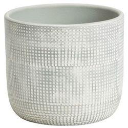 Goodhome Doniczka ceramiczna ozdobna 10,5 cm egg (3663602440925)