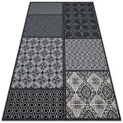Modny uniwersalny dywan winylowy Modny uniwersalny dywan winylowy Mieszanka wzorów